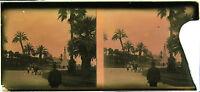 Nice Costa Di Azzurro Stereo Placca Da Lente Positivo 6x13cm, Verso