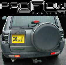 LAND ROVER FREELANDER STAINLESS STEEL CUSTOM BUILT EXHAUST SYSTEM TAIL PIPE