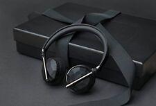 Caeden Linea N°10 Wireless Bluetooth Headphone - Faceted Carbon & Gun Metal New