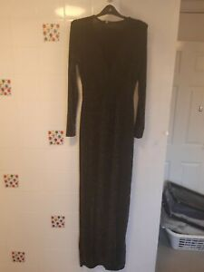 Missguided Maxi Dress Size 10 Bnwt