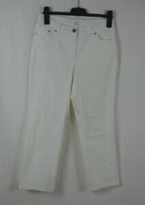 Damen RAPHAELA BY BRAX Traumhafte Jeans Hose Weiß Größe 40/42 K TOP!  ROSA OCEAN