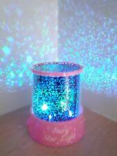 FAIRY STARS SKY CHRISTMAS LED PINK PROJECTOR MOOD LAMP-KIDS-NIGHT LIGHT
