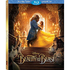 Disney's Beauty & the Beast Live Action Blu-Ray/DVD/Digital HD with Slip Cover