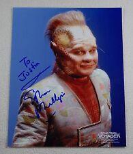 Neelix & Doctor Star Trek Voyager Autographed Photos 8x10 Phillips Picardo