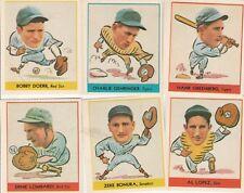 REPRINTS Big League chewing gum baseball cards lot of 11