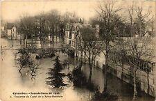 CPA Inondations COLOMBES Vue prise du Castel de la Reine Henriette (413142)