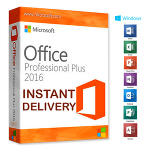 🔏MS™Office™✔️2016 PROFESSIONAL🔏PLUS✔️Micro soft™Office✔️Delivred On the Spot🔏