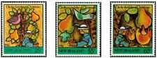 Timbres Religion Noel Flore Fruits Oiseaux Nouvelle Zélande 935/7 ** lot 28574
