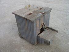 Antique Wood Primitive Tube Tester Cream Dairy Separator Centrifuge With 7 Vials