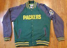 Green Bay Packers 2XL XXL Mitchell & Ness Varsity Letterman Jacket Coat