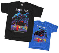 Sortilege - Metamorphose T SHIRT 100% cotton black blue all sizes S-5XL