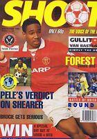 PELE / SHEARER / SHEFFIELD TEAM / NOTTS FOREST Shoot 31 Oct 1992
