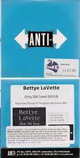 Bettye Lavette Dirty Old Town 1 track promo in card sip sleeve UK CD Single