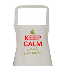 Mum Gift Apron Funny Personalised Keepsake Cooking Present Cotton Best Mum