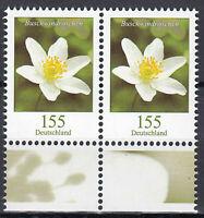 3472 postfrisch Paar waagerecht Rand unten BRD Bund Deutschland Briefmarke 2019