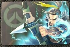 HANZO Overwatch Sticker B Card ID Bank Game Party Loot Kids Decal PC Skate