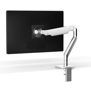 New Humanscale M2.1 Monitor Armw  w/ 25mm Sliding Desk Clamp Pol.Alu  M21C5WBTB