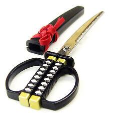 KATANA Schere NIHONTO Schwarz hergestellt in Japan wie ein japanisches Schwert