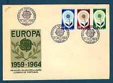 PORTUGAL - PORTOGALLO - 1964 - FDC - Europa - Fiore con 22 petali. E2996