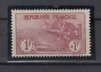 AG4902/ FRANCE – WAR ORPHANS – Y&T # 154 MINT MNH CERTIFICATE - CV 1985 $