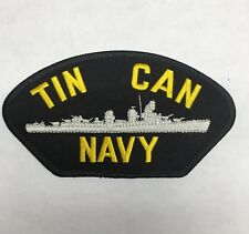 Tin Can Navy Patch