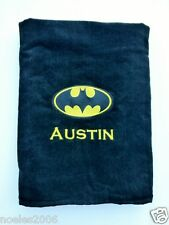 Embroidered Batman Comics Personalized Beach Towel