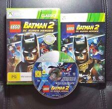 LEGO Batman 2 DC Super Heroes (Microsoft Xbox 360, 2012) Xbox 360 Game