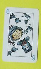 Ersatzkarte Mad Kartenspiel // Karte 6 Blau