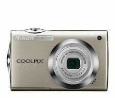 Silver Nikon CoolPix S4000 12.0MP Digital Camera Point & Shoot Touch Screen