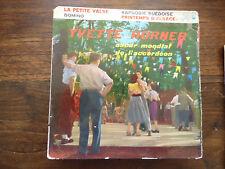 Yvette Horner : la petite valse - domino - pathé EA 334 S