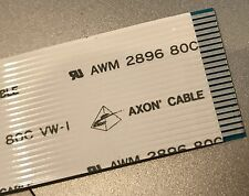 FFC cable 22 way Axon AWM 2896 80C VW-1 386mm long 23mm wide 1mm pitch