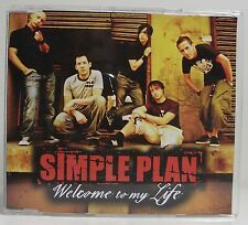 SIMPLE PLAN Welcome To My Life CD Single Promo VG