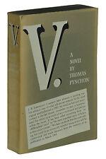 V. ~ THOMAS PYNCHON ~ First Edition ~ 1st 1963 Advance Reading Copy ARC