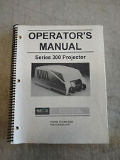 Hughes JVC Technology 300 Series Projector Operators Manual Book Copyright 1993
