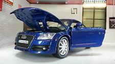 G LGB 1:24 Scale 2007 Audi TT TFSI Detailed Motormax Diecast Model Car 73340