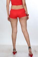 Daring Women's Booty Shorts Ladies Soft Lycra Shorts Girls Red Hot pants Boxers