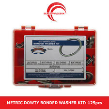 Metric Dowty Bonded Seal/Washer Kit Self Centering - M8 to M24 Thread - 125pcs