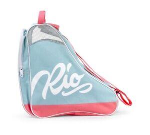 Rio Roller Script Skate Bag Rollschuhe Tasche Teal/Coral Skater Backpack neu ovp