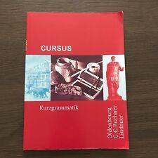 Cursus - Latein Kurzgrammatik von Britta Boberg und Friedrich Maier