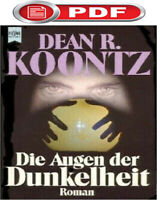 Die Augen der Dunkelheit: The Eyes of Darkness by Koontz German lang