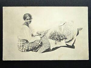 Ceylon / Sri Lanka LACE MAKING / LACE WORKERS - Old Postcard by Plate Ltd 178