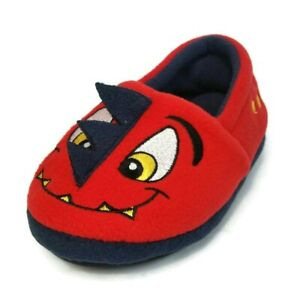 Western Chief Kid's Warm and Cozy Slipper Spike Red Size 11 M US Little Kid NEW