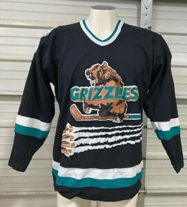 Denver Utah Grizzlies Hockey Jersey - XL - Starter IHL - Vintage Rare - NHL
