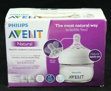 Philips Avent - Scf019/25 2 Pack 2oz Natural Baby Bottle Clear #Scf01925