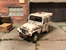 1977 Jeep DJ-5 Police Custom Weathered Rusty Barn Find 1/64 Diecast Car Rust
