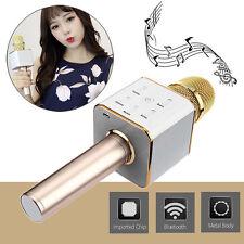 Q7 Wireless Bluetooth Player KTV Karaoke Microphone Mic Speaker For Smartphone