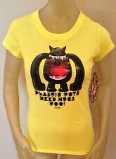 NWT Newbreed Girl PLASTIC TOYS NEED HUGS TOO T-Shirt Juniors Small S