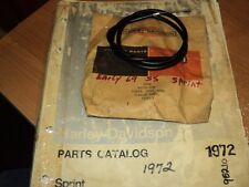 1969  AERMACCHI HARLEY  SPRINT 350CC  CARB COIL CABLE ASSY (1)  56356-69P