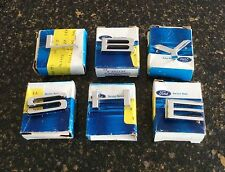 NOS Ford C9ZZ S8MS S-H-E-L-B-Y chrome hood or trunk lid pin letters. Full set!
