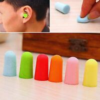 10 20 50Pairs Practical Foam Ear Plugs Tapered Sleep Noise Prevention Earplugs